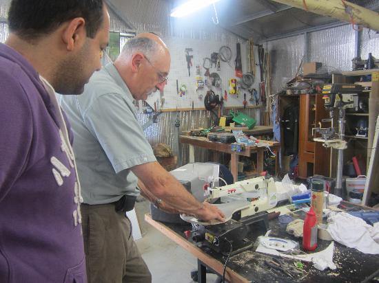 Artisans On The Hill: at workshop