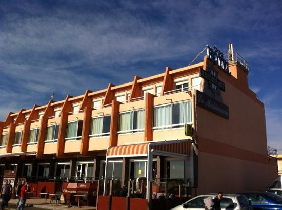 Hotel Mediterranee Port-La-Nouvelle : hôtel