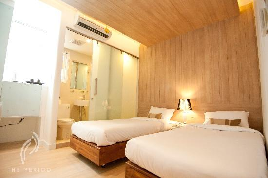 The Period Pratunam: Eternity Superior room (double or twin bed)