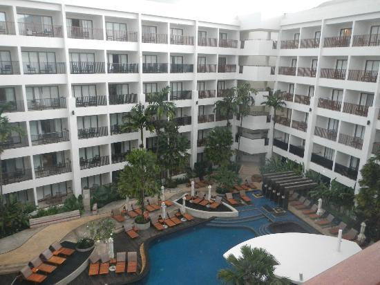 Deevana Plaza Phuket Patong: View from the room