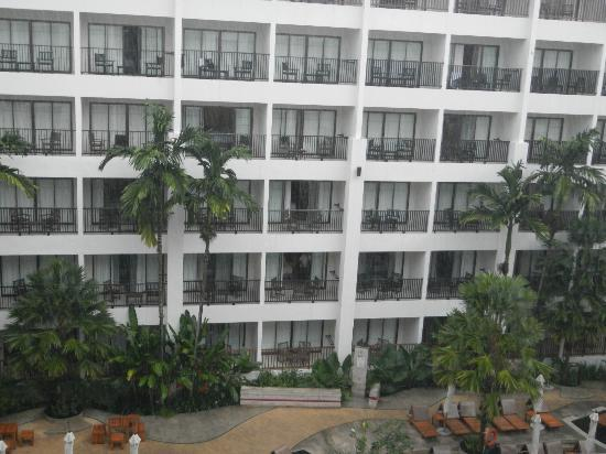 Deevana Plaza Phuket Patong: View from room 2