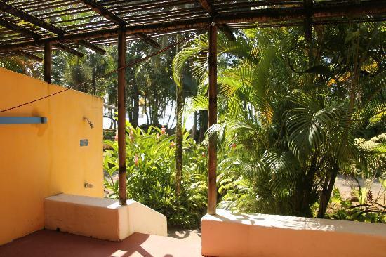 Villas del Caribe: balkon