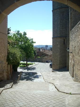 Reial Monestir de Santa Maria de Pedralbes : escalier