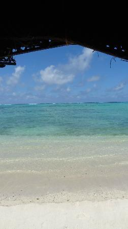 Joelan Beach Fales: The view from my fale