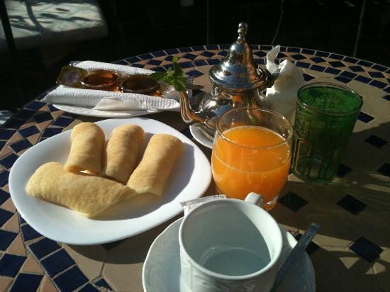 Faouzi Hotel: petit déjeuner