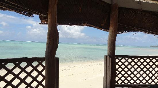 Joelan Beach Fales: View from my fale