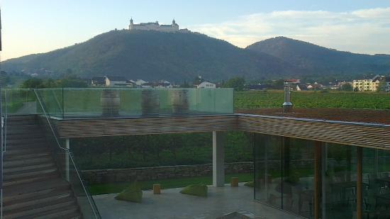 Malat Weingut und Hotel: view from balcony