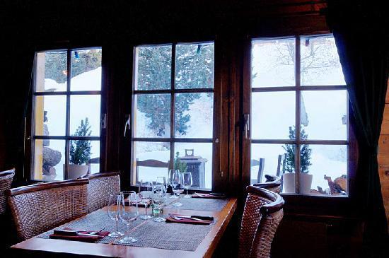 La Lanterne et le Vieux-Chalet : petit, restaurant romantque