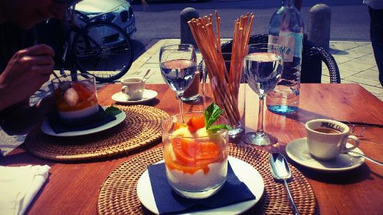 Wein Cantina: dessert to a lunch on Saturday