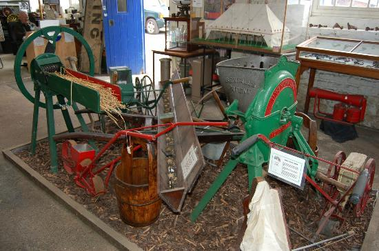 Pewsey Heritage Centre: Agricultural paraphernalia