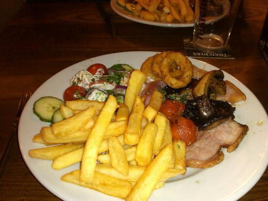 The Westbury Inn Pub : Nice Food #2 - Gammon Steak