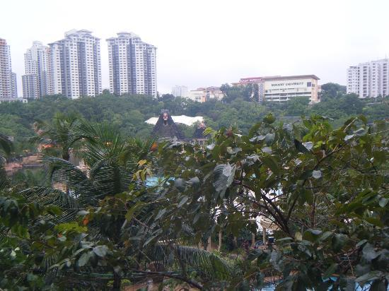 Sunway Resort Hotel & Spa : terace view at water park