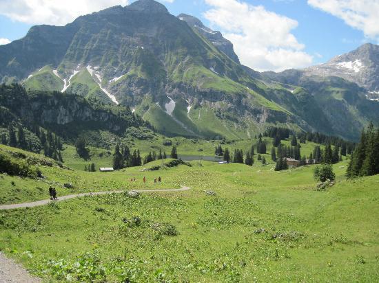Schröcken, Österreich: Wunderbare Bergwelt