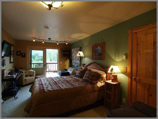 Teton View Bed & Breakfast: Grand View Room