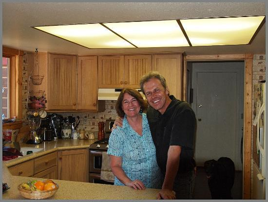 Teton View Bed & Breakfast: Owners Carol + Franz