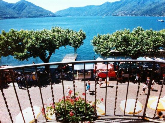 Hotel Schiff-Battello Ascona : View from the balcony