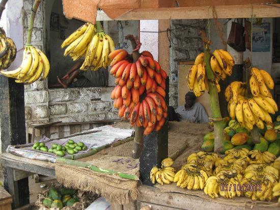 Pumzika Beach Resort: Bananenvielfalt