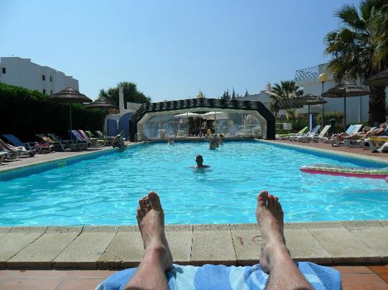 Bayside Salgados: pool veiw