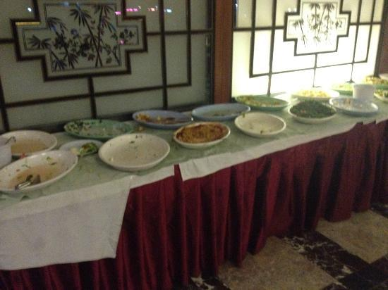 Ayma Hotel : Leftovers in the resturant