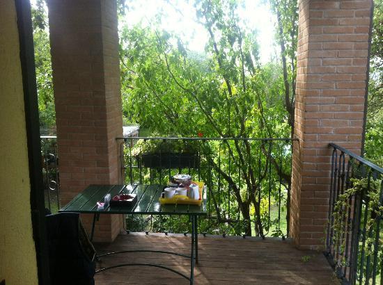 B&B Chez Vivi' : Balkon zur Green Suite