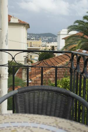 Hotel Villa Les Cygnes: view from balcony room # 5
