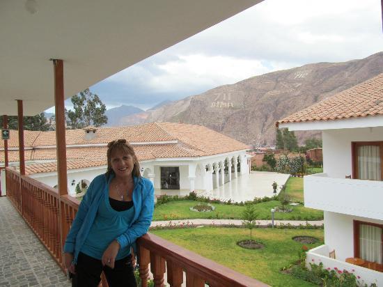 Hotel Agustos Urubamba: Hermosa vista y muy disfrutable!!!