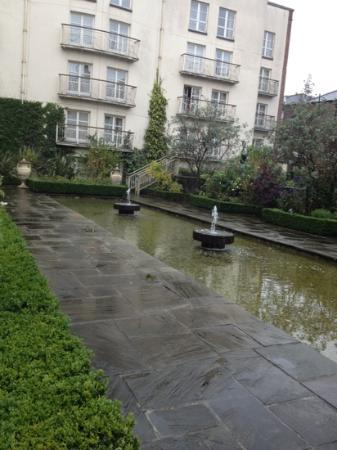 The Merrion Hotel: overlooking the garden