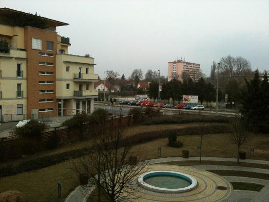 Novotel Szekesfehervar: View from my room