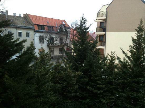 Novotel Szekesfehervar: Veiw from my room towards the town