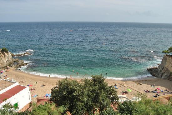 Hotel Mediterrani: View from the balcony
