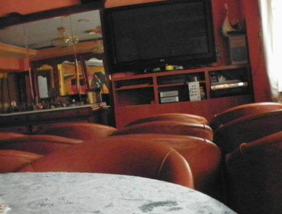 Hotel Manolete: Il salotto di la TV