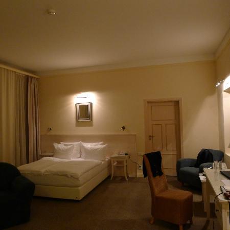 Unitas Hotel: our room