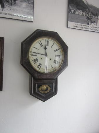 Kannan Devan Tea Museum : old clock