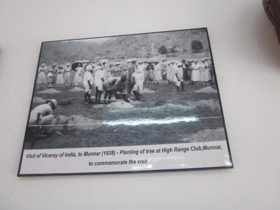 Kannan Devan Tea Museum : old photos of high range