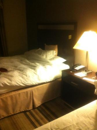 Hampton Inn Meadville: Comfy queen beds