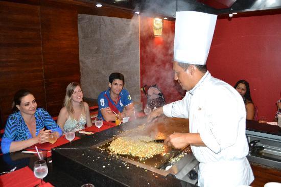 Grand Palladium Imbassai Resort & Spa: restaurante