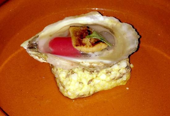Barroco : Huître et foie gras