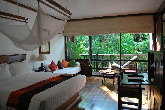 Belmond La Residence d'Angkor: our garden side room