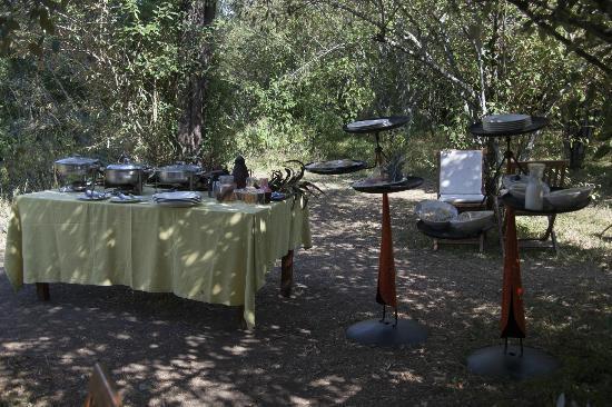 Mara Ngenche Safari Camp: Breakfast and luncharea