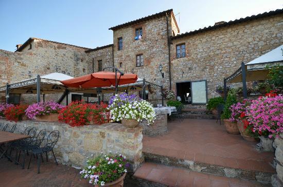 Residenza d'Epoca La Costa: Relais La Costa - terrazza/ristorante