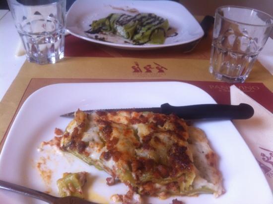 Pane e Vino..al Bettolino : lasagne & tortelli