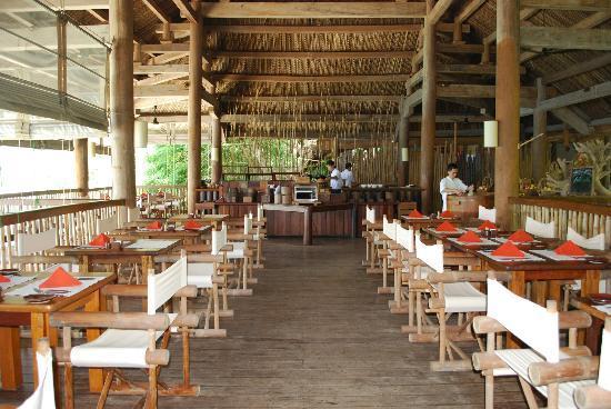 Six Senses Ninh Van Bay: dining bay the bay