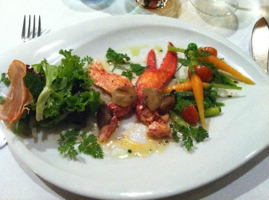 Le Chalut : Lobster set - 2nd course