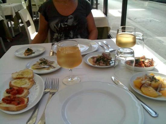 Trattoria Rusticana da Lisetta : Ottimo pranzo a Siracusa.