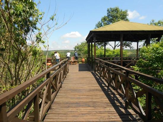 Don Puerto Bemberg Lodge: Mirador sobre el Río Paraná