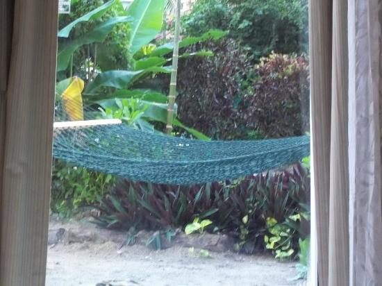 Breezes Resort & Spa Bahamas: hammock outside room from 1st floor