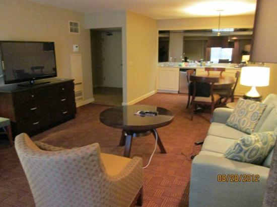 DoubleTree by Hilton Hotel Sacramento: Loved the space