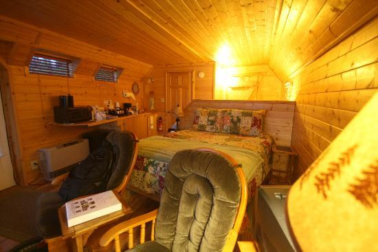 Angels Rest on Resurrection Bay, LLC: Cloud 9 cabin..cosy & comfortable