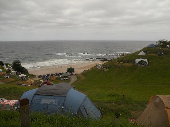 Zona De Acceso A Los Baños Fotografía De Camping La Paz Playa De Vidiago Tripadvisor