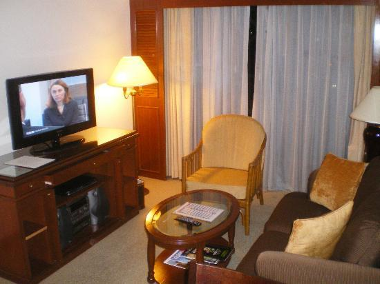 Ambassador Row Hotel Suites by Lanson Place: Zi 1016: Wohnzimmer